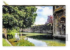 Bishops Moat At Wells, Uk Carry-all Pouch