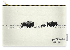 Bison Family Carry-all Pouch