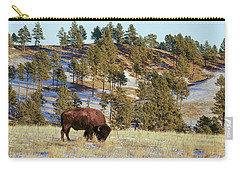Bison In Custer State Park Carry-all Pouch