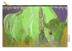 Bison On The American Plains Carry-all Pouch