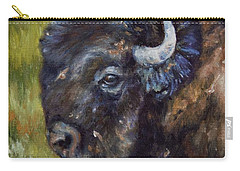 Bison Study 5 Carry-all Pouch