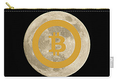 Bitcoin To The Moon Carry-all Pouch