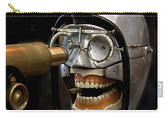 Bite The Bullet - Steampunk Carry-all Pouch by Betty Denise