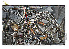Bits And Pieces Carry-all Pouch by Stephanie Come-Ryker