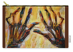 Bitter Fingers Carry-all Pouch by Steve Taylor