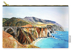 Bixby Bridge Big Sur Coast California Carry-all Pouch