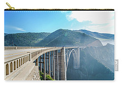 Carry-all Pouch featuring the photograph Bixby Bridge,big Sur by Jingjits Photography