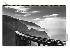 Carry-all Pouch featuring the photograph Bixby Creek Bridge,big Sur by Jingjits Photography