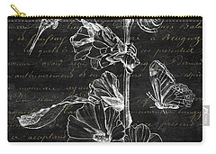 Black And Gold Hummingbirds 2 Carry-all Pouch