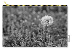Black And White 14 Carry-all Pouch