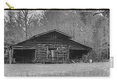 Black And White 17 Carry-all Pouch