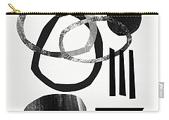 Black And White- Abstract Art Carry-all Pouch