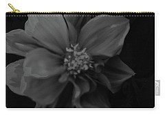 Black And White Beauty Carry-all Pouch by Joe Burns