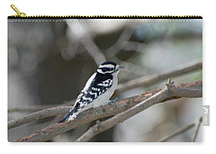 Black And White Bird Carry-all Pouch