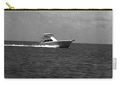 Black And White Boating Carry-all Pouch
