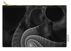 Black And White Fractal 080810 Carry-all Pouch