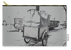 Black And White German Stroller Carry-all Pouch