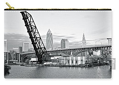 Carry-all Pouch featuring the photograph Black And White In Daylight by Frozen in Time Fine Art Photography