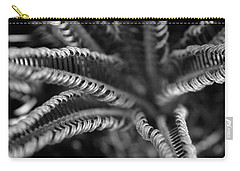 Black And White Palm Abstract 3624 Bw_2 Carry-all Pouch