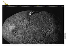 Black And White Potato Carry-all Pouch by Dan Sproul