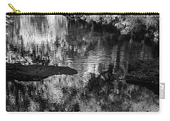 Black And White Reflection Carry-all Pouch