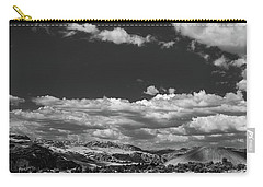 Black And White Small Town  Carry-all Pouch