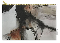 Black And White Study Carry-all Pouch