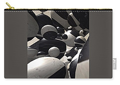 Black And White World  Carry-all Pouch