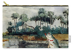 Black Bass Florida Carry-all Pouch by Pg Reproductions