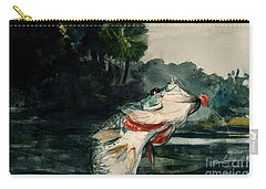 Black Bass Carry-all Pouch by Pg Reproductions
