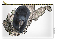 Black Bear Coming Close Carry-all Pouch