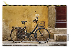 Black Bike Carry-all Pouch