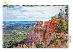 Carry-all Pouch featuring the photograph Black Birch Canyon by John M Bailey