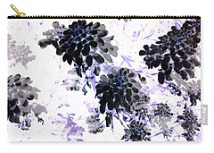 Black Blooms I Carry-all Pouch