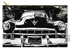 Black Cadillac Carry-all Pouch