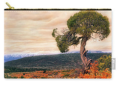 Black Canyon Juniper - Colorado - Autumn Carry-all Pouch by Jason Politte