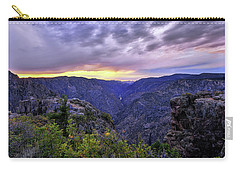Black Canyon Sunset Carry-all Pouch