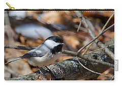 Black-capped Chickadee 0571 Carry-all Pouch