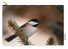 Black-capped Cickadee II Carry-all Pouch