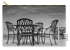 Black Cast Iron Seats Carry-all Pouch