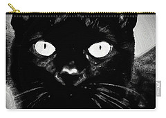 Black Cat Carry-all Pouch