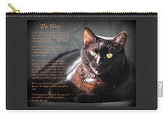 Black Cat The Way Carry-all Pouch