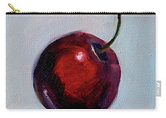 Carry-all Pouch featuring the painting black Cherry by Nancy Merkle