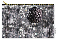 Carry-all Pouch featuring the photograph Black Christmas by Ulrich Schade