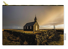 Black Church Golden Hour Carry-all Pouch