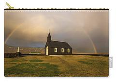 Black Church Rainbow Carry-all Pouch