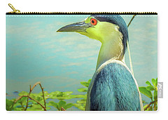 Black-crowned Night Heron Digital Art Carry-all Pouch