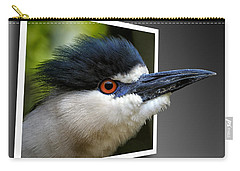 Black Crowned Night Heron Out Of Bounds Carry-all Pouch