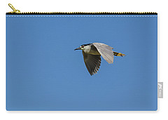 Carry-all Pouch featuring the photograph Black-crowned Night Heron by Yeates Photography