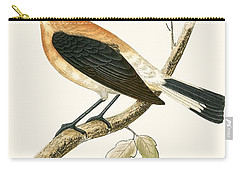Black Eared Wheatear Carry-all Pouch